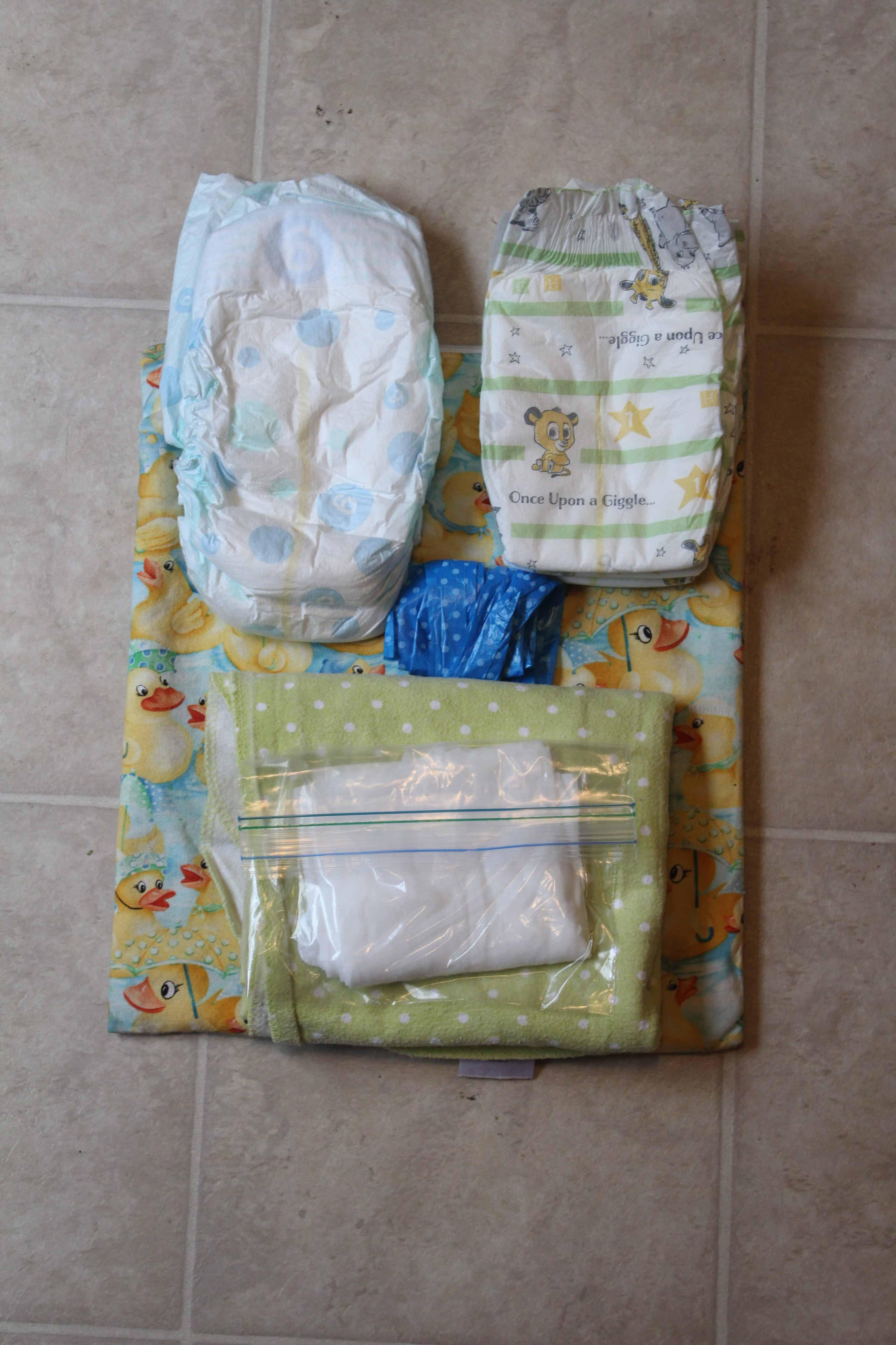 wet bag with diapers wipes blue and hazel. Black Bedroom Furniture Sets. Home Design Ideas