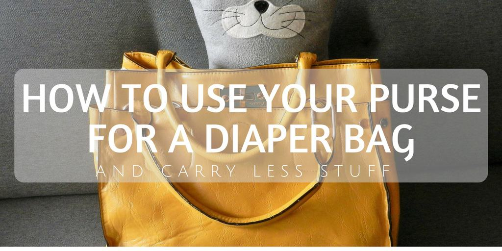 diaper bag packing list