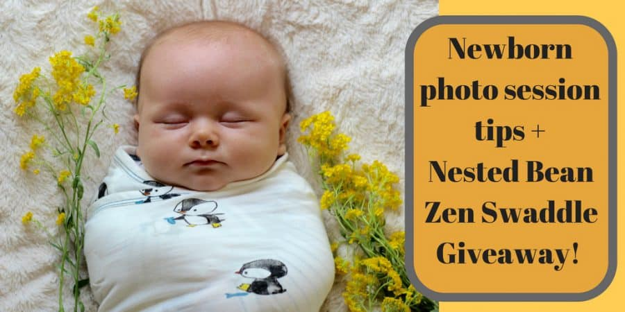 Newborn photo session tips