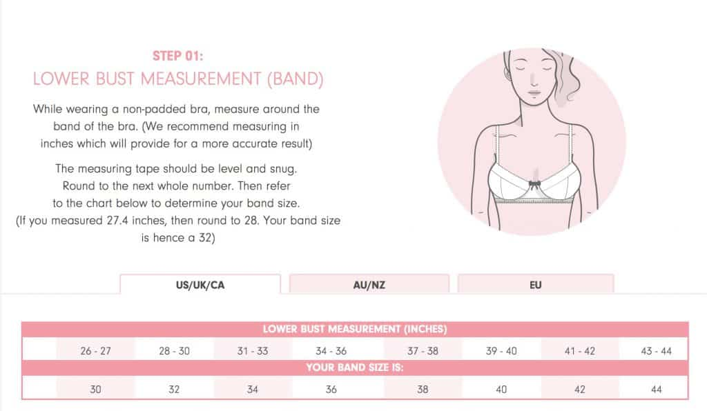 How to pick your bra size
