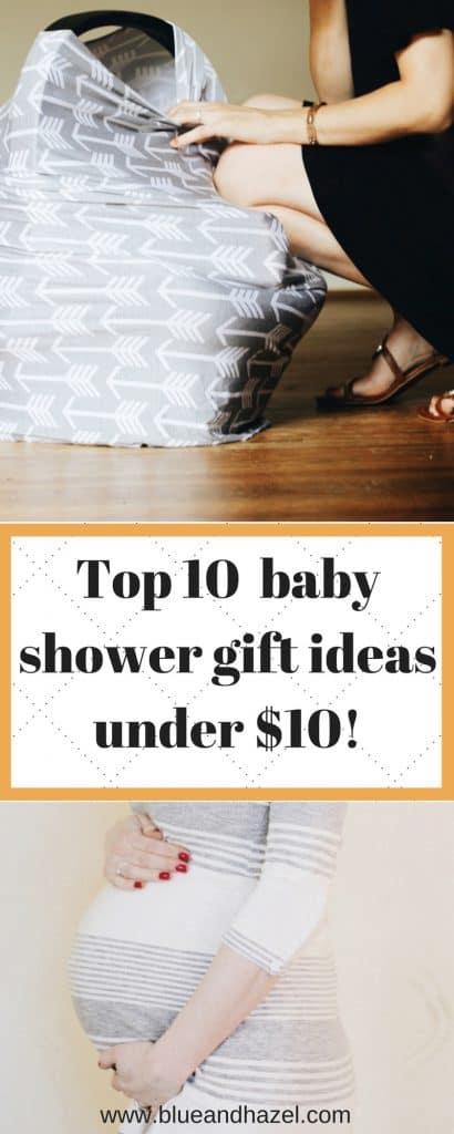 Top 10 baby shower gift ideas under $10