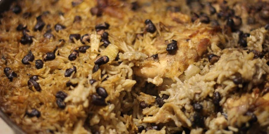 The best one pot meal with rice and beans