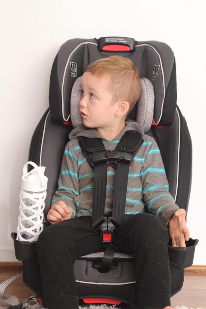 Narrow Booster Seat >> Narrow car seats: How to fit 3 across in a car with Graco
