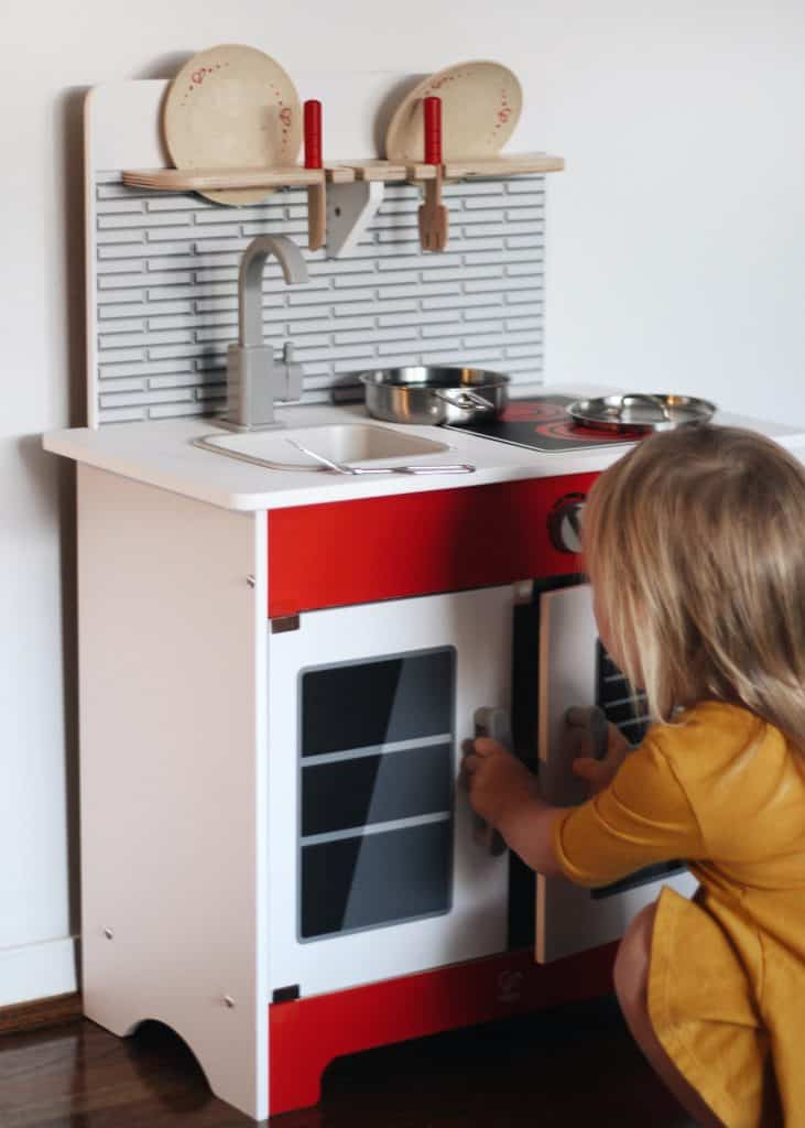 Hape City Cafe Play Kitchen Play set review