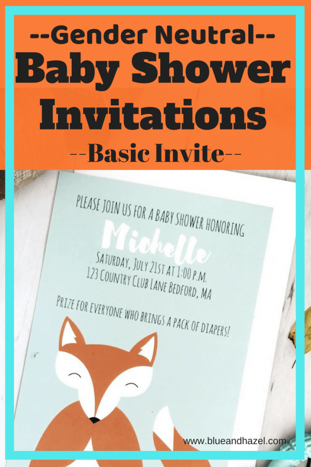 See what sets Basic Invite apart for making gender neutral baby shower invitations and woodland baby shower invitations. #babyshower #invitations #babyshowerinvitations #woodlandinvitations #genderneutralbabyshower #genderneutral #bueandhazel