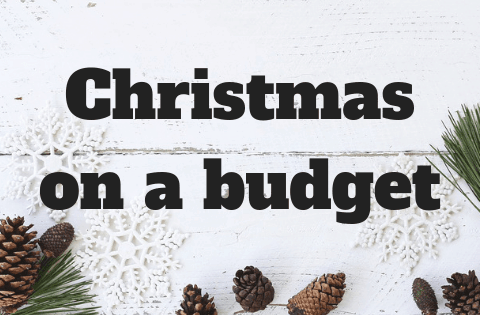 how to spend less at Christmas and stay on a budget