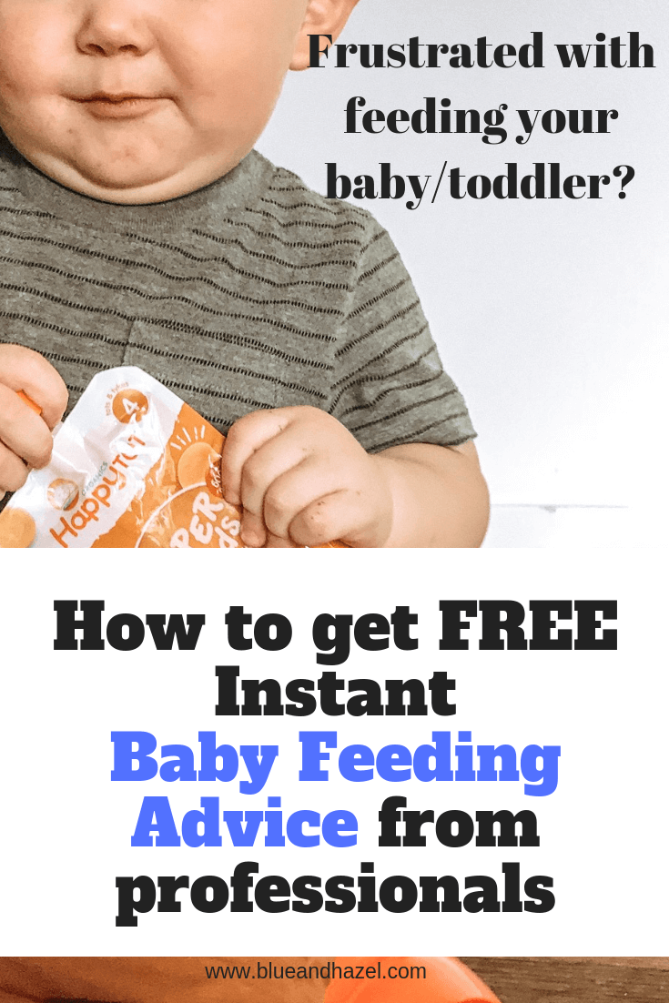 New FREE live chat service with healthy baby organics to answer all your feeding questions! Learn more here.