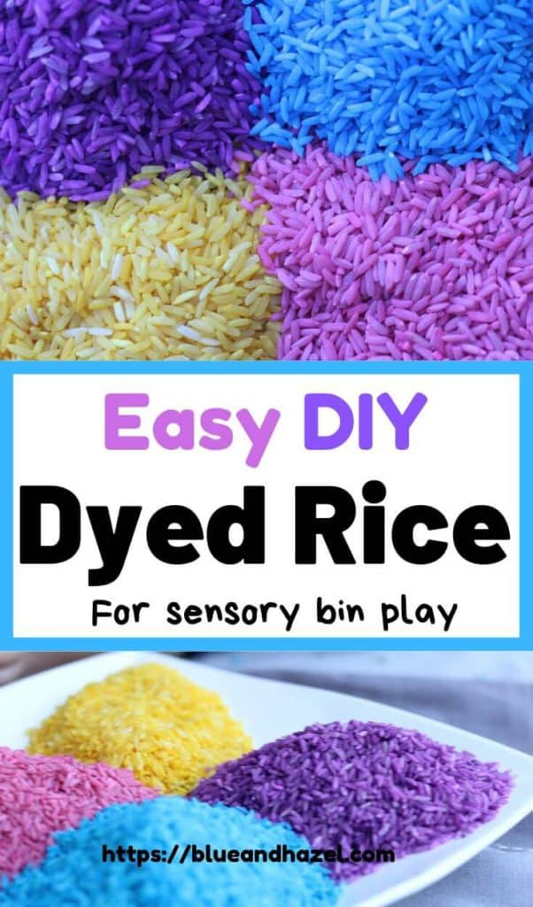 How To Dye Rice With Rubbing Alcohol And Food Coloring |