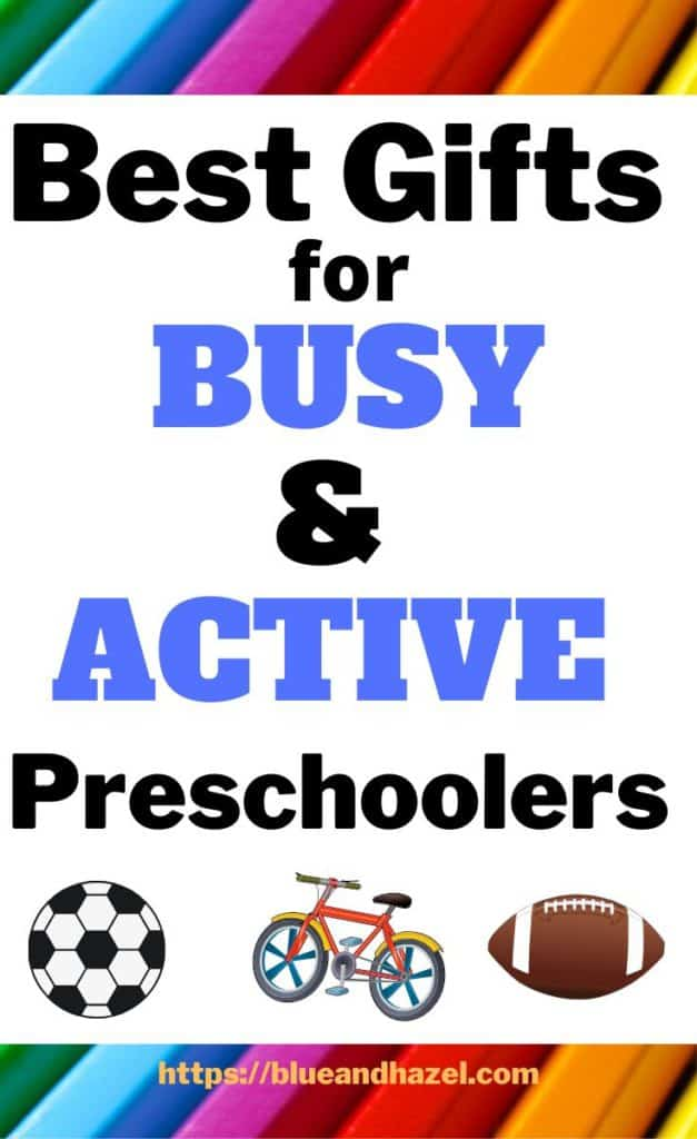 gift guide for active preschoolers
