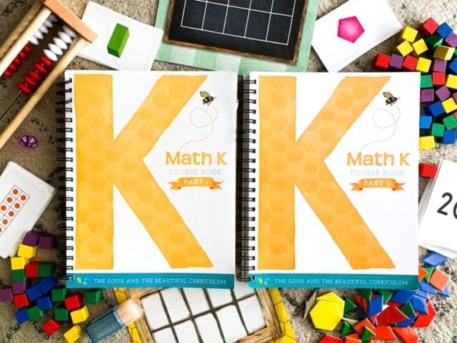 the good and the beautiful level k math books and supplies
