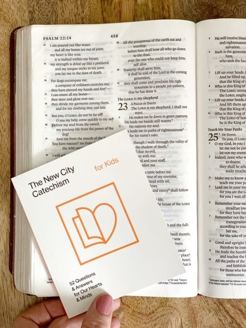 new city catechism for kids bible questions