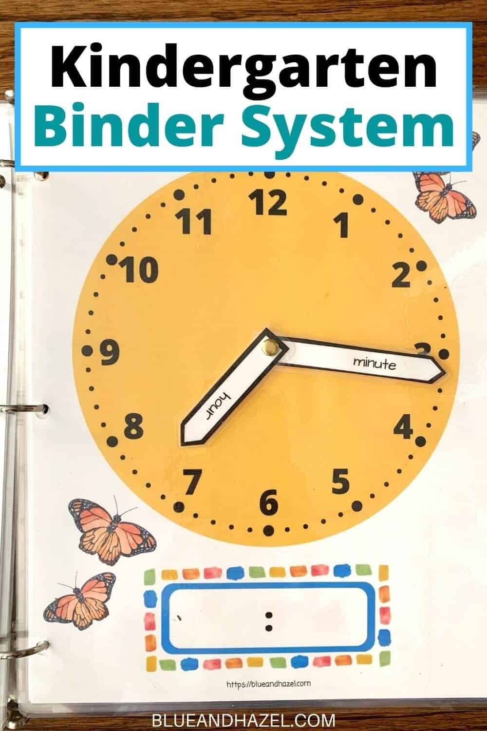 Yellow printable clock for learning how to tell time.