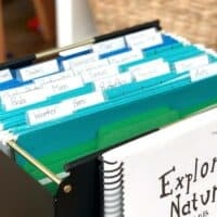 Exploring Nature With Children Filing System To Organize Papers